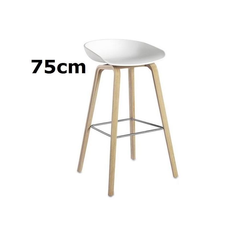 hay about a stool barhocker aas 32 75 cm wei hee welling object designprodukte online kaufen. Black Bedroom Furniture Sets. Home Design Ideas