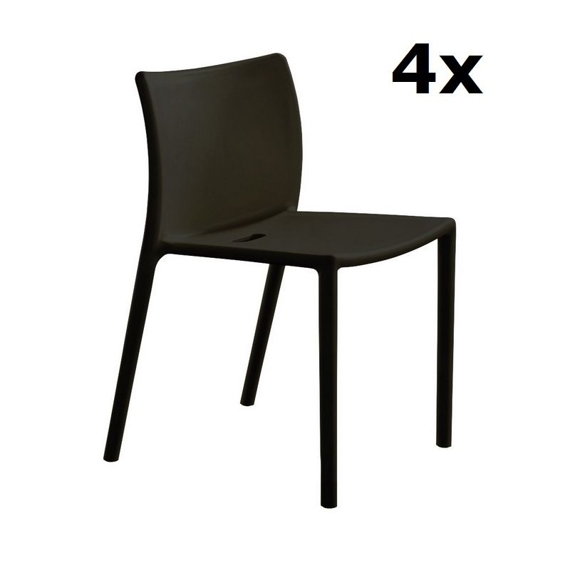 Magis air chair stuhlset 4x design jasper morrison for Air chair stuhl