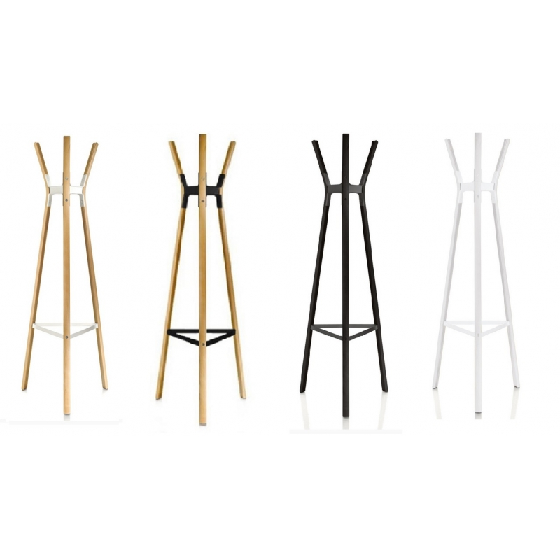 magis steelwood coat stand kleiderst nder garderobe design ronan erwan bouroullec object. Black Bedroom Furniture Sets. Home Design Ideas