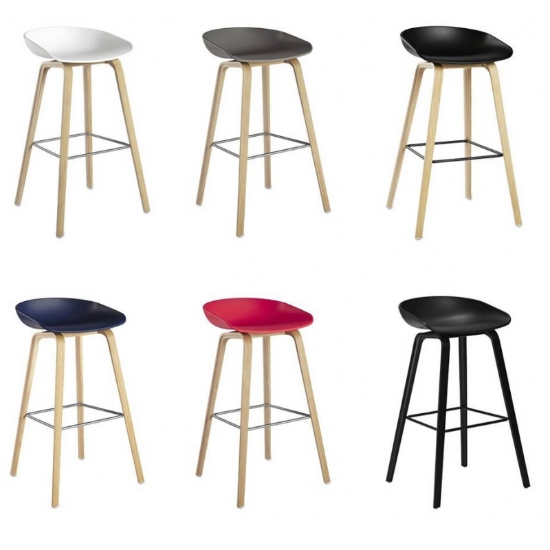 hay about a stool barhocker aas 32 65cm wei hee welling object designprodukte online kaufen. Black Bedroom Furniture Sets. Home Design Ideas